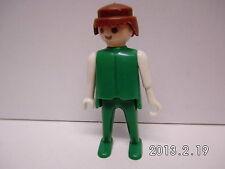 -s4-Playmobil - Grundfigur - Pirat - Klicky - grün/weiß mit Hakenhand