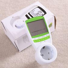 Medidor de Consumo Eléctrico Potencia Contador de Electricidad Luz  Watiometro