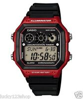 AE-1300WH-4A Japan Movt New Casio Watch 10-Year Battery World Time Resin Band