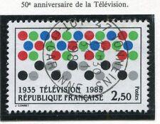 STAMP / TIMBRE FRANCE OBLITERE N° 2353 LA TELEVISION