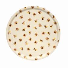 Emma Bridgewater Bumblebee Large Round Tray, Birch Veneer BEE8000