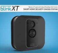 Blink XT 1080P In/Outdoor Camera Systems + Single Add-on Alexa Free Cloud-Refurb
