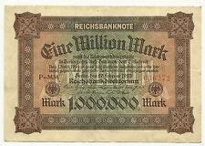GERMANY - Weimar, 1 Million Mark, Feb. 20, 1923 - Pick #86a