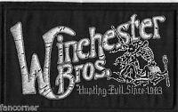 Supernatural ecusson  Winchester brothers supernatural winchester bros patch