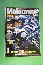 MOTOCROSS 10 OTTOBRE 2005 HONDA CR 250/CRF 450/KAWASAKI KXF/BETA REV-3 270/GAS G
