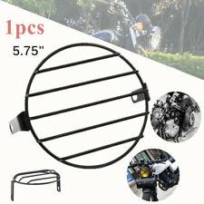 "1*5.75"" Motorcycle Headlight Net Cover Metal Crossbar Guard Headlight Cover Mask"