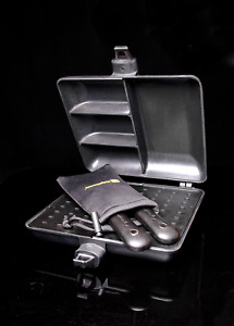 New Ridgemonkey Gunmetal Grey Connect Combi & Steamer Set - Ridge Monkey