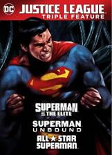 DCU: SUPERMAN UNBOUND/SUPERMAN VS. THE ELITE/ALL STAR SUPERMAN NEW DVD