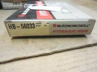 85-89 Fits Toyota MR2 Autospecially Brake Hydraulic Hose #HB56033 H245