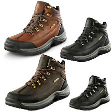 Men's Mid Ankle Military Trekking Hiking Boots Combat Waterproof Boots Shoes