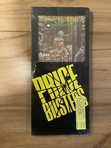 Iron Maiden - Somewhere In Time Longbox CD Reissue 1989 Sealed!!!