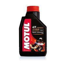 Aceite Motor Moto Motul 7100 4T 20W50 100% Sintético ESTER MA2 - 12 litros lt