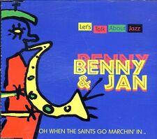 Benny & Jan (Benny Waters) - Let's Talk About Jazz ♫ PROMO Maxi-CD '97 ♫ WIE NEU