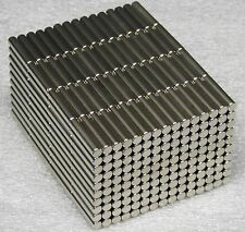 10x Lot of 10PC N35 NEODYM NEODYMIUM NEODIM SUPER STRONG MAGNETS  5x25 mm