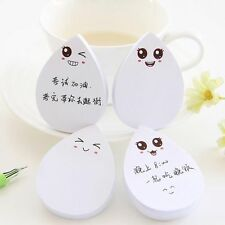 Creative Waterdrop Memo Pad Sticky Notes Stationery Escolar School Supplies