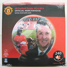 MANCHESTER UNITED F C 3D PUZZLEBALL PUZZLE BALL JIGSAW - BRAND NEW IN SEALED BOX