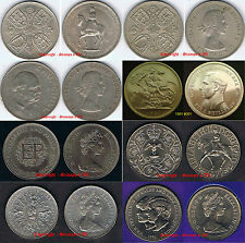 GB 5 shillings Crown 25 Pence 1951 to 1981 Discounts for quantity see selections