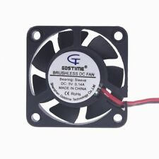 5V 40mm x 40mm x 10mm DC Brushless 2-pin CPU / Laser / Printer Cooling Fan US