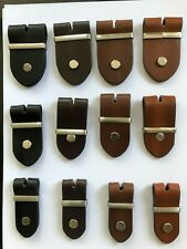 Leather Belt Buckle Leather Metal Piece Fitting