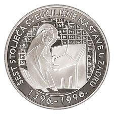 EXTRA RARRE-Croatia 200 Kuna, 1996, University in Zadar- silver 925/1000 -PROFF