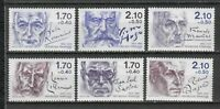 s25359) FRANCE 1985 MNH** Famous authors 6v