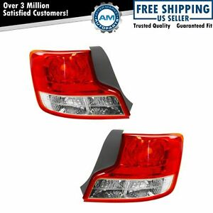 Taillight Tail Lamp Left Driver Right Passenger Side Pair for 11-13 Scion tC