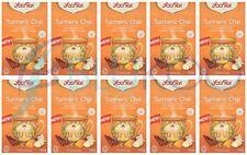 Yogi Tea Curcuma Chai - 17 Intercalaires (Pack de 10)