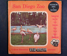 View-Master SAN DIEGO ZOO (214ABC) – 3 reels & booklet, SH