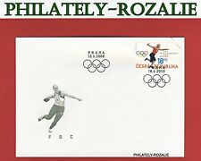Czech Republic 2008 FDC First Day Cover ( Olympic Games in Beijing  ) 569