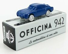 Officina-942 art2006b scala 1/76 fiat abarth 750 coupe zagato 1956 blue