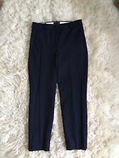 JCrew $89.50 Hi Rise Cameron Slim Four-Season Stretch Crop Pants 10 Navy H6573