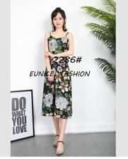 FLORAL DRESS # 2286 (EC) Black