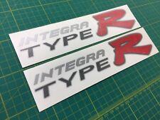 INTEGRA DC5 TYPE R TYPE-R Jdm Decalcomanie Adesivi Grafica lato sostituzioni Acura