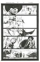 Stephen King The Dark Tower Original Marvel Comic Art Laurence Campbell