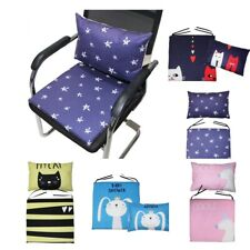Washable Camping Chair Cushion Garden Rocking Chair Pad with Back Pillow