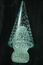 MURANO GLASS BULLICANTE CHRISTMAS TREE WEIGHT