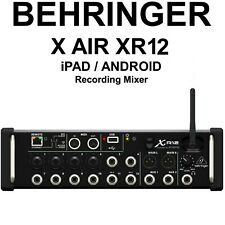 Behringer X Air Xr12 iOs / Android Digital Recording Mixer with Remote App