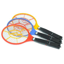 Electric Fly Mosquito Swatter Bug Wasp zapper Racket Insect killer control US