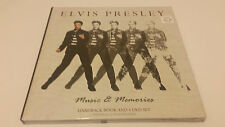 "NEW Elvis Presley ""Music & Memories"" Hardback Book & 4-DVD Set - Limited Edition"