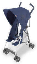 Maclaren Baby Mark II Compact Lightweight Umbrella Fold Reclining Stroller Navy