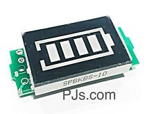 3.7V 1S Single Lithium Battery Capacity Indicator 4.2V Blue Display Module