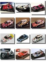 Racing Cars, Rally, LeMans, IXO 1/43 Model Cars.