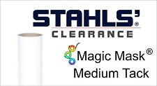 "Stahls' Magic Mask® MEDIUM Tack Heat Transfer Tape - 30"" x 25 Yards"