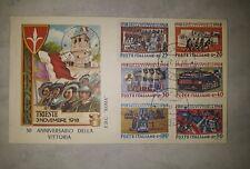 Busta primo giorno 50° anniversario della vittoria del 1968