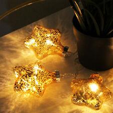 Led Stern Glas Lichterketten Zur Weihnachtsdekoration Gunstig Kaufen