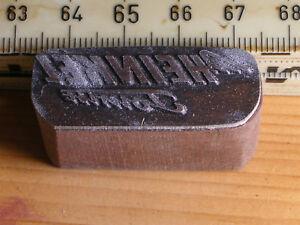 heinkel tourist   LOGO schöner Oldtimer Stempel / Siegel aus Metall