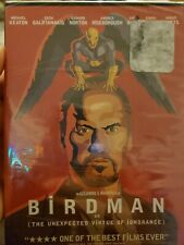 Birdman or (The Unexpected Virtue Of Ignorance) 2014 DVD Michael Keaton