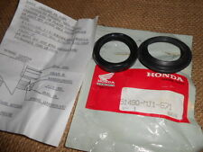 NOS Honda OEM Front Fork Oil Seal Set 1984 1985 1986 CB700 51490-MJ1-671