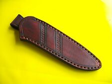 Schöne Messerscheide!18 cm!Handarbeit!! Hochwertiges Sattlerleder! Lederscheide!