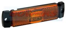 12V 24V SLIM-LINE AMBER LED SIDE MARKER POSITION LAMP LIGHT TRUCK LORRY TRAILER